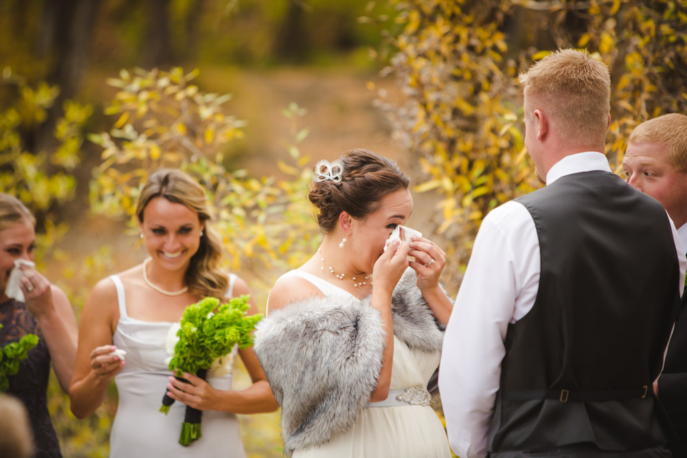 colorado-wedding-photography, silverthorne-pavillion, silverthorne-wedding-photographs, fall-mountain-wedding, denver-wedding-photographer, outdoor-ceremony-mountains, colorful-aspen-trees, emotional-bride, candid-photographs