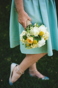 colorado-wedding-photographer, denver-weddding-photography, wedding-photographs, wyoming-wedding, bridesmaid-flowers, green-yellow-wedding-bouquet