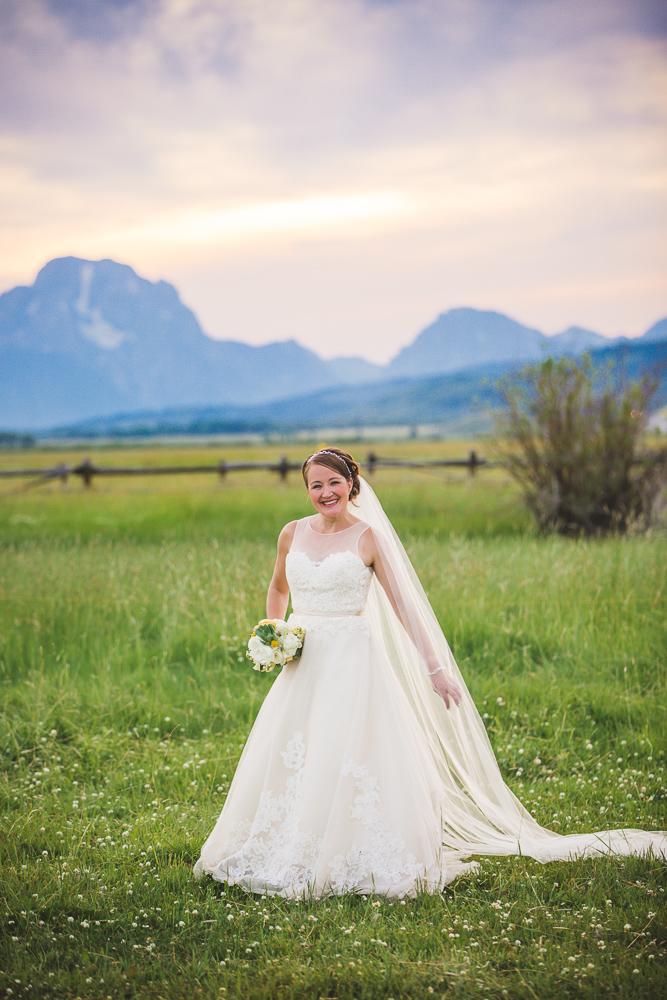 colorado-wedding-photographer, bridal-portrait, bride-in-sunshine, mountain-wedding, mountain-bride, denver-wedding-photography, beautiful-bride, grand-tetons-wedding, diamond-cross-ranch-wedding