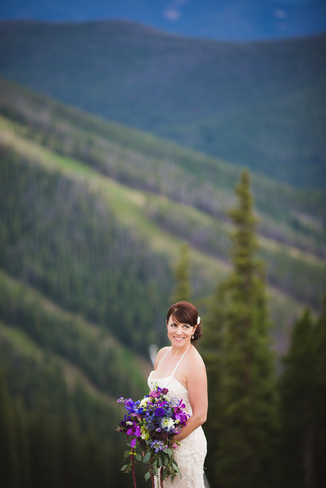 colorado-wedding-photographer, bridal-portrait, bride-in-sunshine, mountain-wedding, mountain-bride, denver-wedding-photography, beautiful-bride, keystone-wedding-photographer