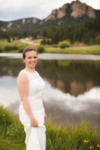 colorado-wedding-photographer, bridal-portrait, bride-in-sunshine, mountain-wedding, mountain-bride, denver-wedding-photography, beautiful-bride
